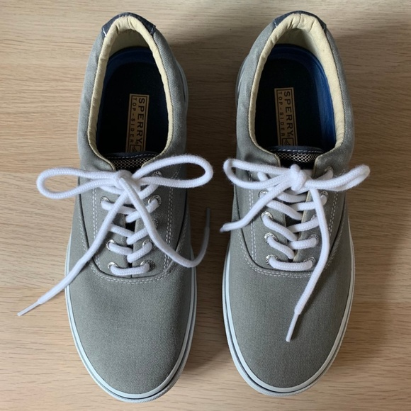 Sperry Shoes | Halyard Sneakers Ash